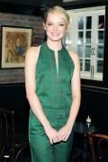Emma Stone Calvin Klein post-show dinner, 9/13