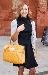 Jessica Ennis at the Mulberry Spring/Summer 2013 Show at London Fashion Week 18th September x8