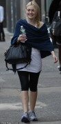 Dakota Fanning coming from a workout 21th september 2012