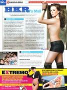María José Revista H para hombres Abril 2014