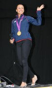 Jessica Ennis at Her Homecoming Ceremony in Sheffield 17th August x24