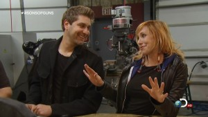 Kari Byron - HQ Caps from Sons of Guns  -  4/10/12