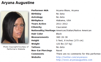 Aryana Augustine / Aryana Blaze