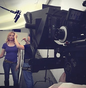 Kari Byron - #fromset - 1MQ