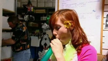 Kari Byron - Sneak Peak of Balloon Buster Episode - MQ  Caps - 12/10/12