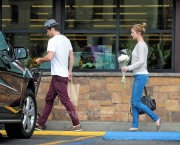 Emily VanCamp at grocery store in Los Angeles (October 18, 2012)