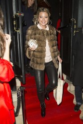 Holly Valance at The Brompton Club in London 18th October x10