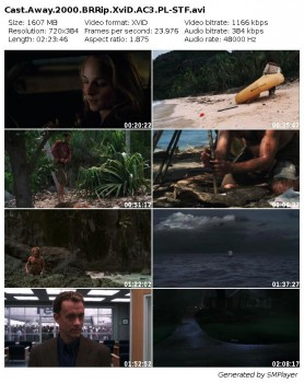 Poza ¶wiatem / Cast Away (2000) BRRip.XviD.AC3.PL-STF / Lektor PL