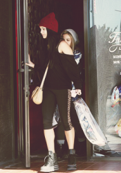 Vanessa & Stella Hudgens Out in Los Angeles 10/26/12