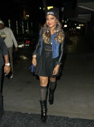 Christina Milian at the Katsuya Restaurant in Hollywood 15th November x15