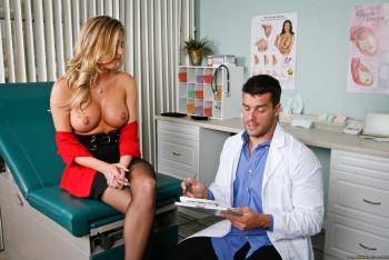 Samantha saint breast exam fun