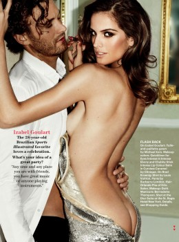 Izabel Goulart - By Mario Testino for Allure, December 2012