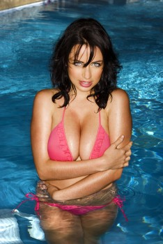 Sophie Howard - UHQ | Topless, Black, Pink and White Bikinis Photoshoots