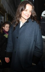 Katie Holmes - arrives at The Music Box Theatre in NYC 12/26/12
