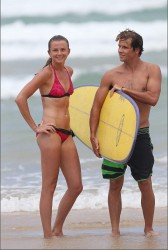 6057c6228810266 Daniela Hantuchova ~ Bikini at the beach / Brisbane, Dec 27 '12 candids