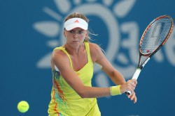 Daniela Hantuchova - Brisbane International Day One 12/30/12