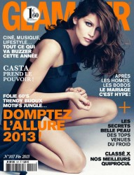 Laetitia Casta -  Glamour France, February 2013