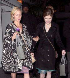 Brittany Snow &amp;amp; Anna Kendrick - leaving the Chateau Marmont in West Hollywood 1/10/13