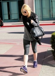 Dakota Fanning - at the gym in North Hollywood 1/11/13