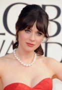 Zooey Deschanel - 70th Annual Golden Globe Awards in Beverly Hills 1/13/13