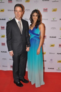 Indian actress Ileana D'Cruz - 58th Annual Idea Filmfare Awards Nominations Party in Mumbai on January 14, 2013 - x5 HQ