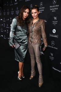 Charles Barker Mercedes >> Sophia Thomalla attends Mercedes-Benz Fashion Week Berlin ...