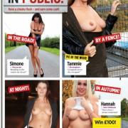 Gatas QB - Topless Office Babes Nuts | Simone, Tammie, Emma e Hannah | Nuts Magazine | 4 Janeiro 2013