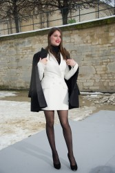 Laetitia Casta @ The Dior Fashion Show Jan 21, 2013 HQ x 4