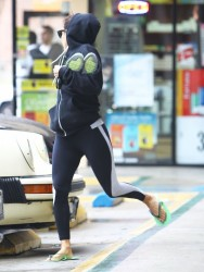 Eva Longoria - out and about in Hollywood 1/25/13