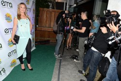 Elisabeth Röhm - Green Works New Campaign Launch in LA 1/23/13
