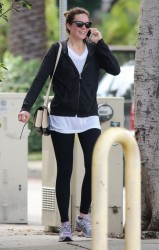 Mandy Moore - leaves the gym in West Hollywood 1/26/13