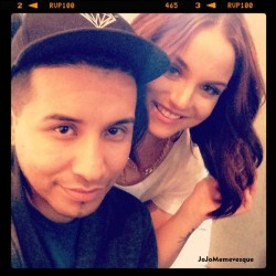 "Joanna 'JoJo' Levesque - Behind the scenes of ""Andre"" Video Shoot - January 27, 2013"