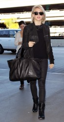 Julianne Hough - at LAX Airport 1/28/13