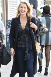 Ali Larter - out and about in LA 1/29/13