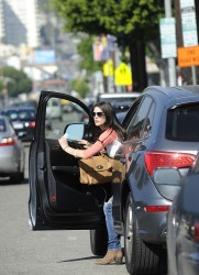Ashley Greene - going out for lunch in Hollywood 1/30/13