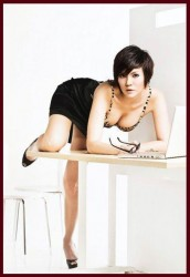 Foto Hot Aline Tumbuan - wartainfo.com