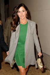 Minka Kelly - at the VH1 studios in NYC 2/5/13
