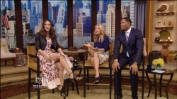 Katharine McPhee - Live! with Kelly and Michael - 2/5/13 Caps