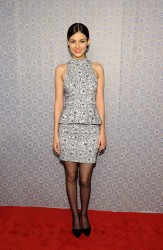 Victoria Justice - Alice + Olivia By Stacey Bendet Fall 2013 fashion show in NYC 2/11/13