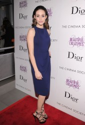 Emmy Rossum @ Beautiful Creatures screening, NY, 11.02.13 - 9HQ