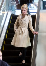 Katherine Heigl - at LAX Airport 2/14/13