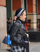 Miley Cyrus Out in New York City - February 15, 2013