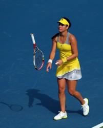 Sorana Cirstea - WTA Dubai Duty Free Tennis Championship Day 1 in Dubai 2/18/13
