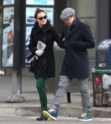 Olivia Wilde - out and about in NYC 2/20/13
