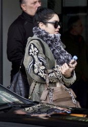 Vanessa Hudgens - at Ciampino Airport in Rome 2/22/13