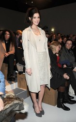 Ashley Greene - Salvatore Ferragamo fashion show at Milan Fashion Week 2/25/13