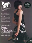 Jena Malone: Page 6 Magazine June 2008: HQ x 3