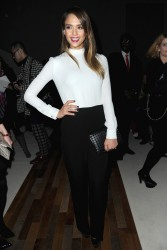 Jessica Alba - Valentino F/W 2013 fashion show in Paris 3/5/13
