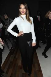 Jessica Alba - Valentino F/W 2013 fashion show in Paris 3/5/13