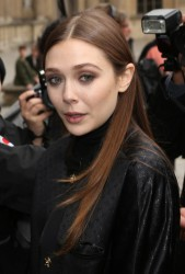 Elizabeth Olsen - Louis Vuitton F/W 2013 fashion show in Paris 3/6/13